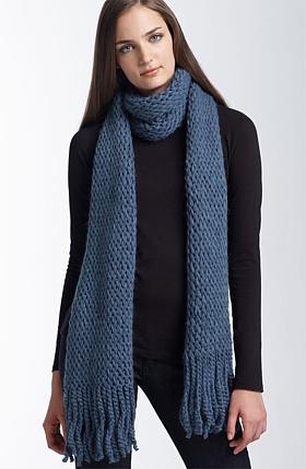 Long Knit Scarf