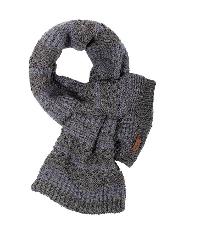 Easy Scarf Knitting Patterns For Men : Knit Scarf Designs and Patterns World Scarf
