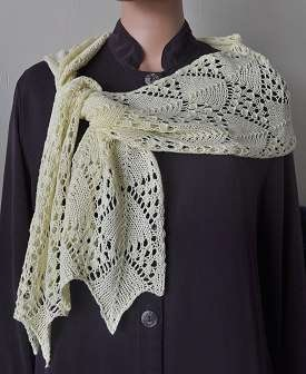 Knitting Pattern For Silk Scarf : Lace Scarf Designs and Patterns World Scarf