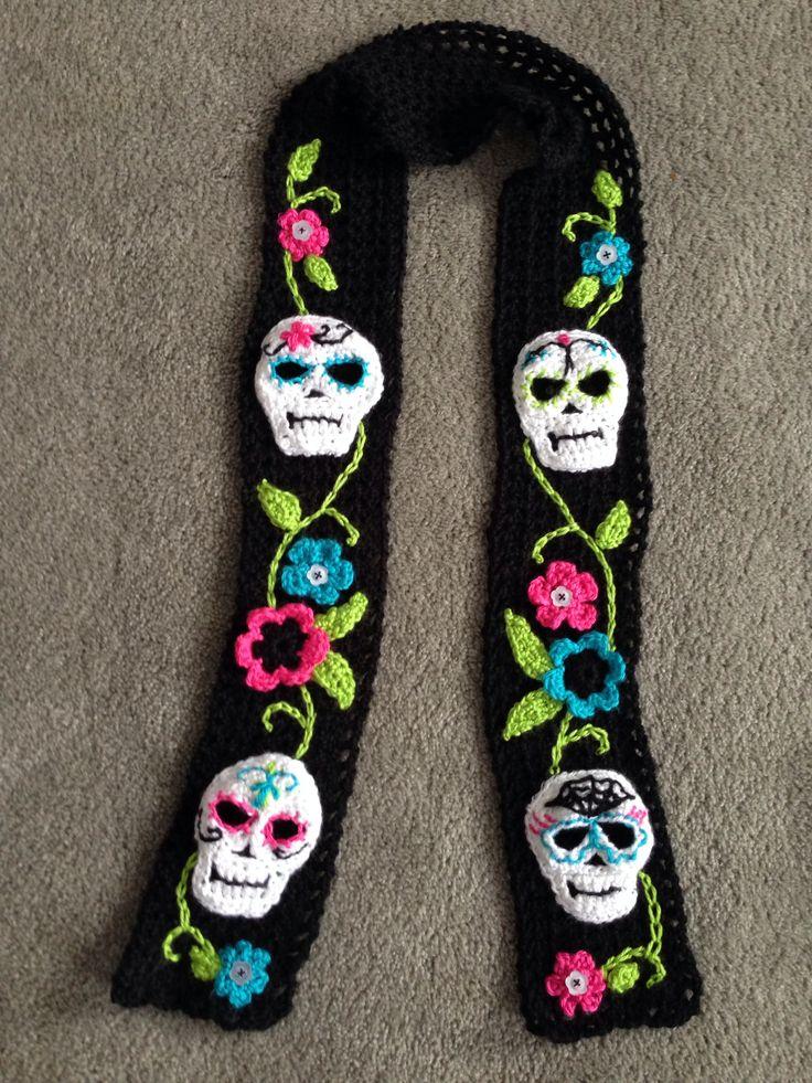 Skull Scarf Designs And Patterns Worldscarf Com