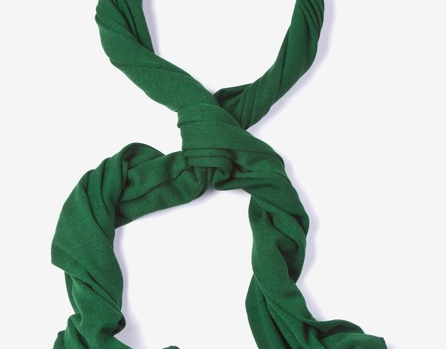 Men's Green Scarf
